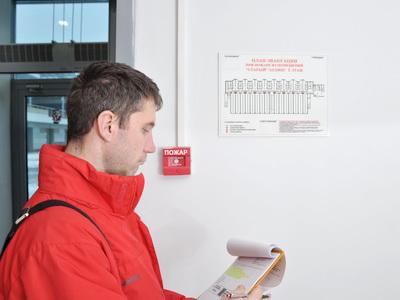 Пожарная сигнализация на объекте