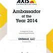 Ambassador of the Year 2014